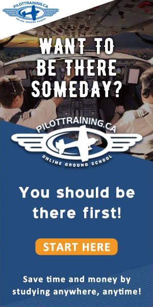 pilottraining.ca advertisement banner